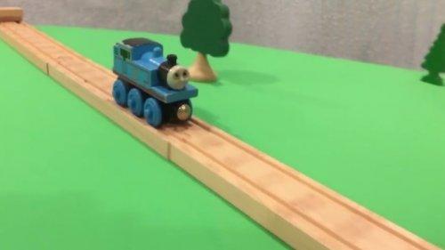 Впечатляющие трюки Паровозика Томаса