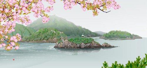 Пейзажи Тацуо Хориути, нарисованные в… Excel (8 фото + видео)