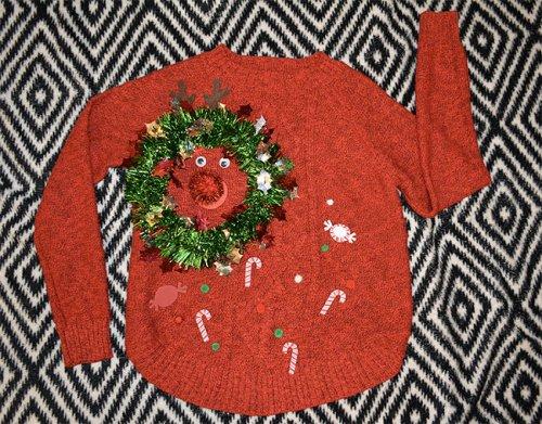 Нелепые и уродливые рождественские свитеры (16 фото)