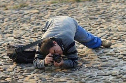 Смешные фотографы за работой (24 фото)