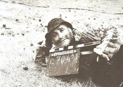 Закулисье легендарных советских фильмов (26 фото)