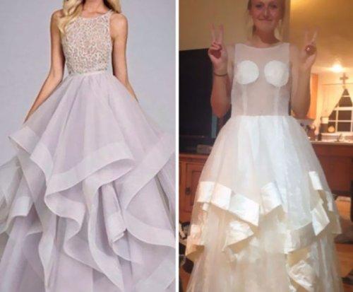 Ожидания vs. реальность: платья, купленные в Интернет-магазинах (23 фото)