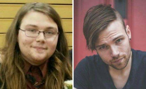 Удивительное преображение лиц людей после похудения (30 фото)
