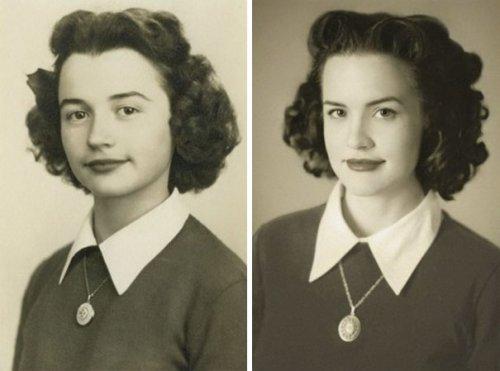 Путешествие во времени: люди воссоздают фотографии своих предков (26 фото)