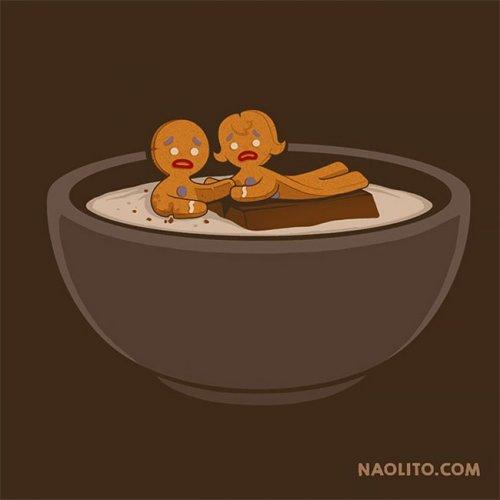 Забавные иллюстрации Начо Диаса Архоны (28 шт)