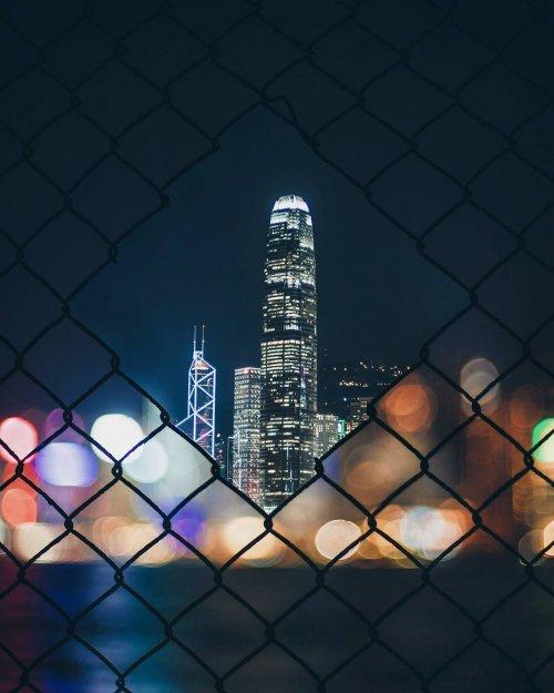 Невероятные городские пейзажи в фотографиях Харимао Ли (29 фото)