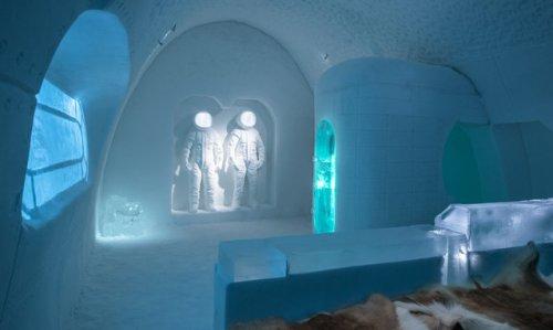 Знаменитый Ледяной отель в Лапландии 2017 (8 фото)