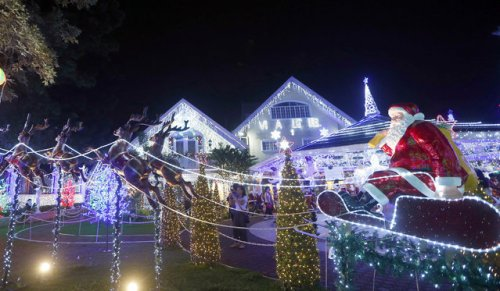 Рождественские огни 2017 (23 фото)