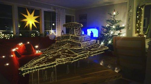 Имперский Звёздный разрушитель, шагоход AT-AT и другие имбирные пряники от шведской пекарни Star Wars Bakery (14 фото)