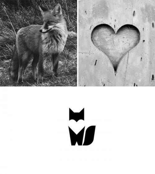 Графический дизайнер создаёт креативные логотипы, сочетая два элемента (13 фото)