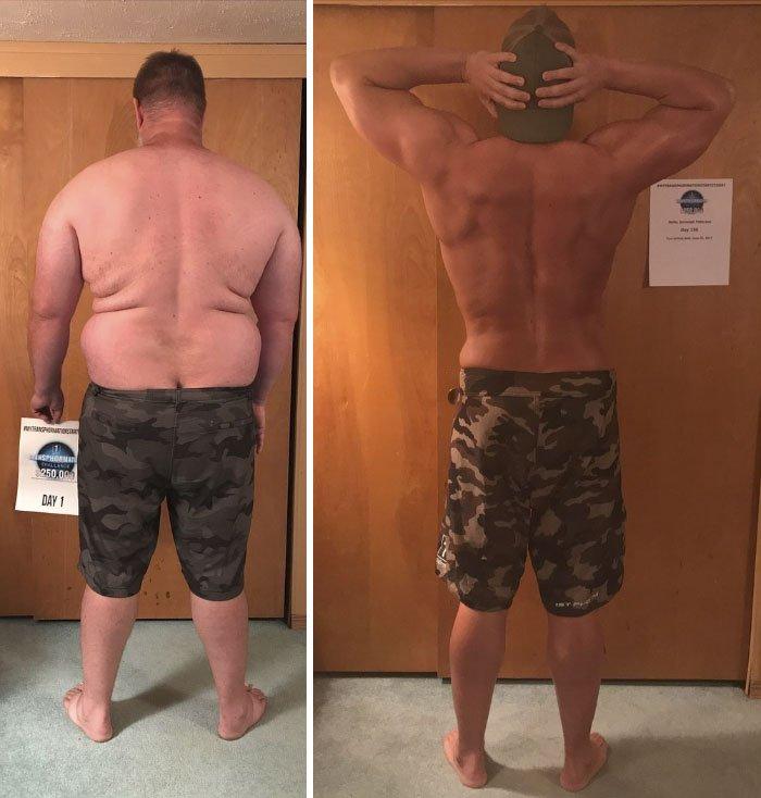 Похудеть и накачаться мужчине