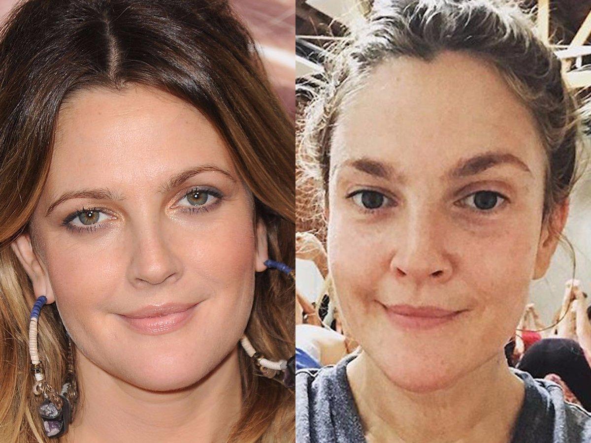 Наши знаменитости без макияжа фото 2018