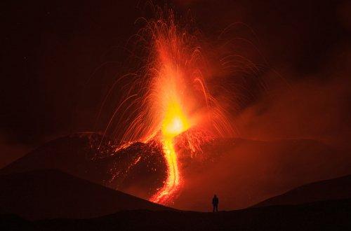 Самые выдающиеся вулканические извержения в 2017 году (40 фото)