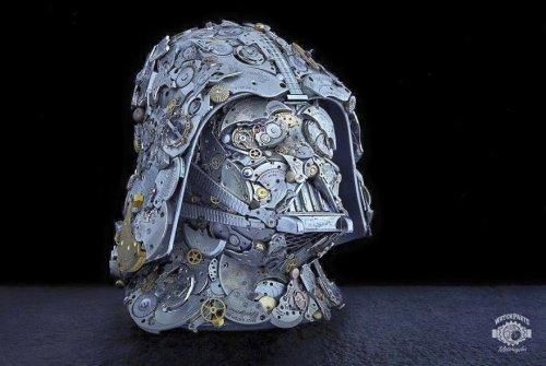 Стимпанк-скульптуры Дэна Таненбаума (17 фото)
