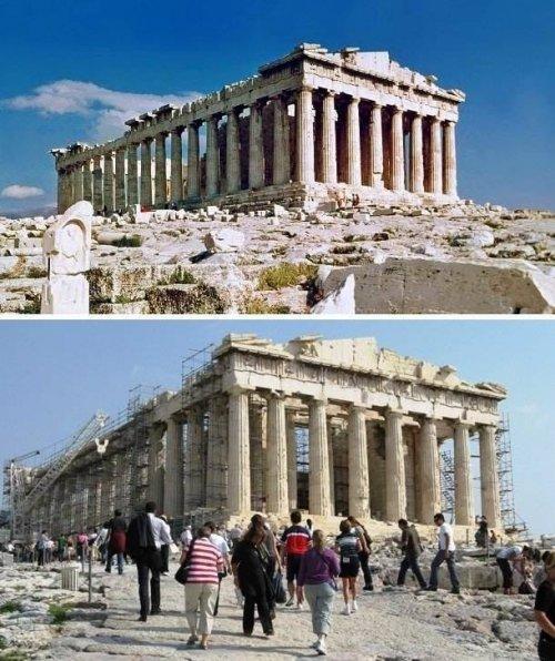 Ожидания vs. реальность: туристические достопримечательности (22 фото)