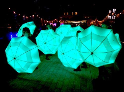 Фестиваль световых инсталляций Lumiere London 2018 (13 фото)