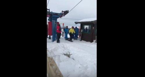 Когда с друзьями впервые отправляешься кататься на сноуборде