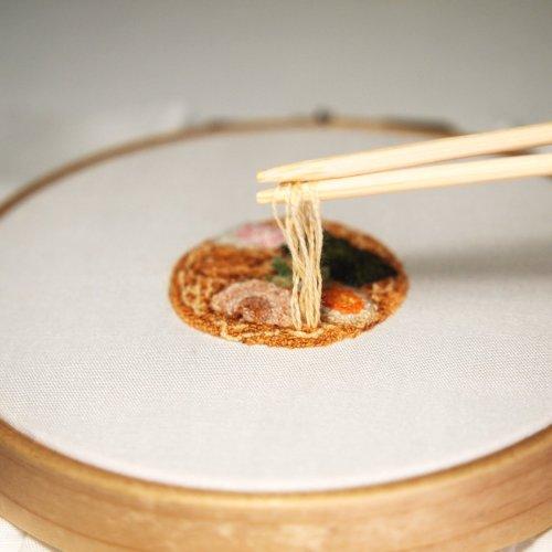 Интерактивная кулинарная вышивка Ipnot (10 фото)