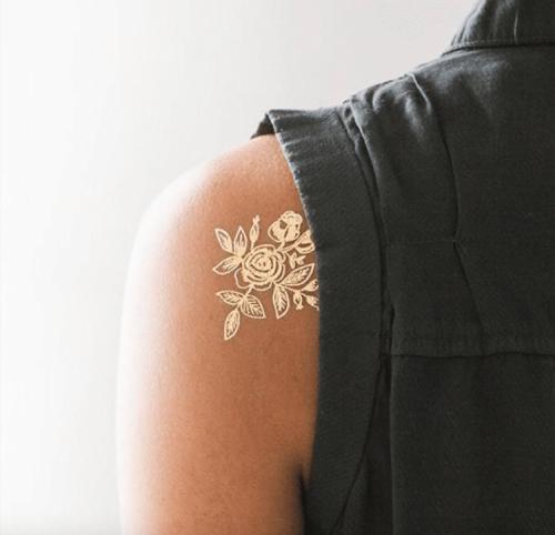 Временные татуировки для людей, которые не решаются на перманентные тату (24 фото)