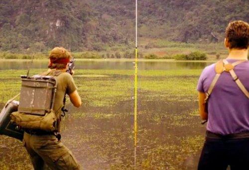 Популярные фильмы до и после добавления спецэффектов (26 фото)
