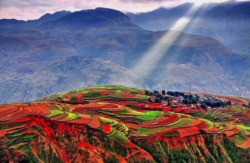 Радужные горы (16 фото)