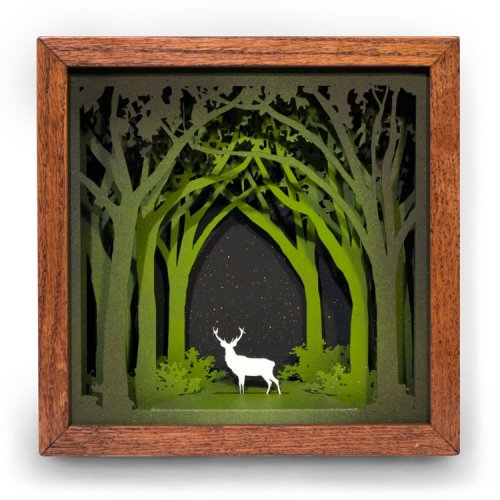 Многослойные деревянные картины Джейсона Панкоста (14 фото)