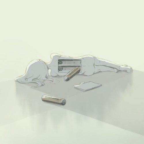 Человеческие чувства и эмоции в иллюстрациях японского художника Avogado6 (21 фото)