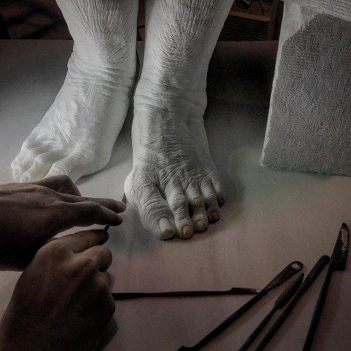 Скульптор-самоучка создаёт невероятно реалистичные скульптуры, мечтая стать современным Микеланджело (16 фото)