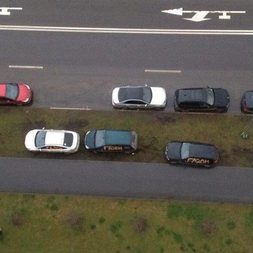 Гении парковки и справедливое возмездие (19 фото)