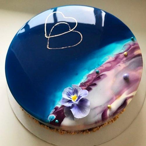 Потрясающие торты и десерты от Ольги Носковой (22 фото)