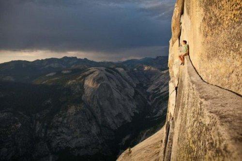 Головокружительные фотографии, сделанные на экстремальной высоте (23 шт)