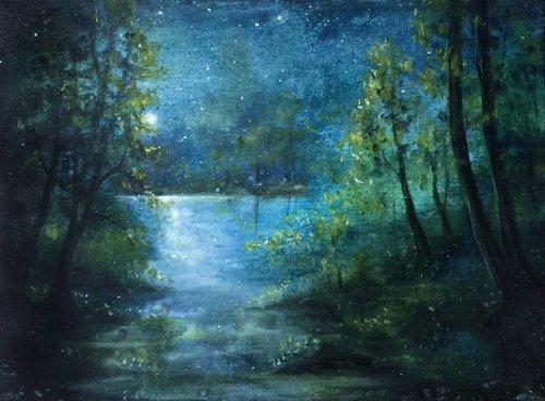 Волшебные фантазии в картинах Дженнифер Тейлор  (9 фото)