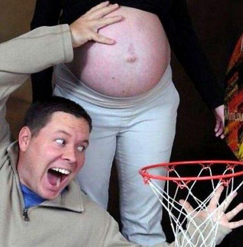 Сумасшедшие фотосессии беременных (27 фото)