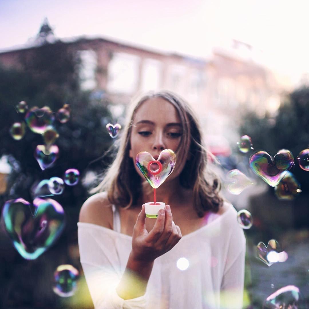 читать фотосессия с мыльными пузырями идеи прядь скрутите форме