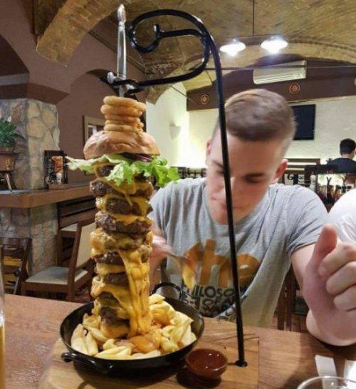 Необычный дизайн и подача блюд (23 фото)