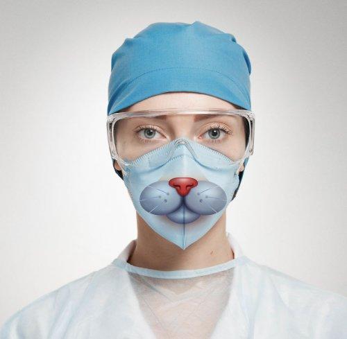 Хирургические маски, которые сделают визит в больницу более приятным (16 фото)
