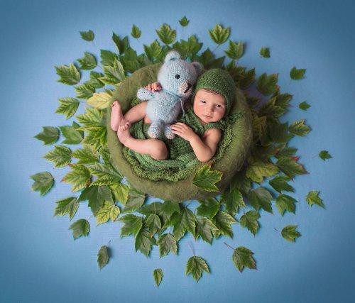 Младенцы в мандалах: прелестные фотосессии Габы Сварбу (20 фото)