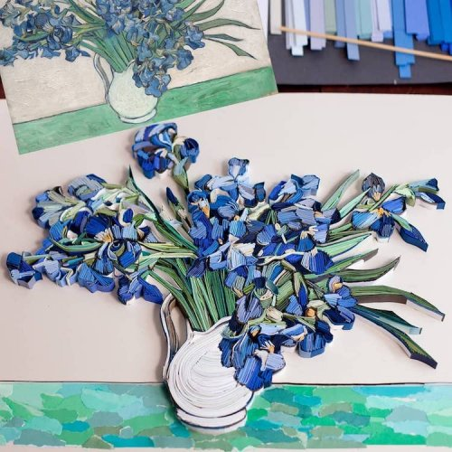 Красочный квиллинг Юлии Бродской (11 фото)