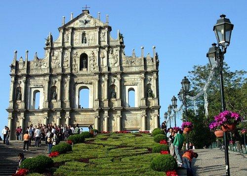 Восхитительные руины церкви Святого Павла в Макао (10 фото)