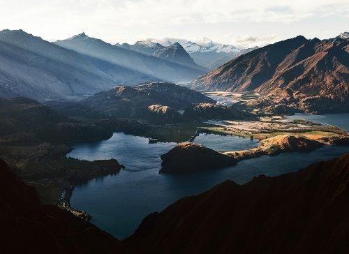 Природная красота Новой Зеландии в фотографиях Флориана Венцеля (13 фото)