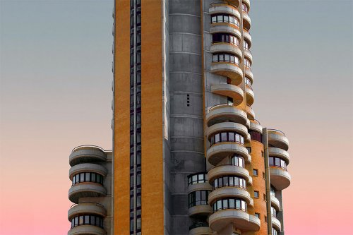 Инопланетная архитектура в фотографиях Аль-Мефера (9 фото)
