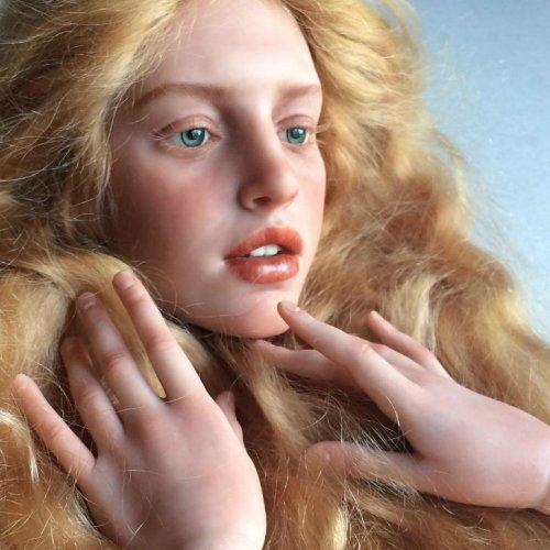 Реалистичные винтажные куклы Михаила Зайкова (16 фото)