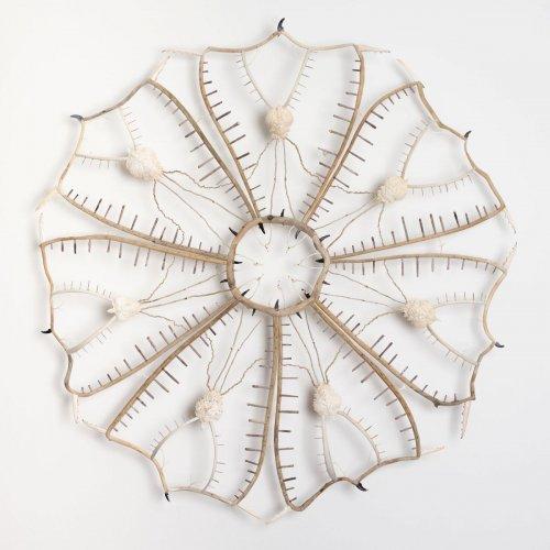 Скульптурные мандалы из природных материалов, созданные Шоной Уилсон (7 фото)