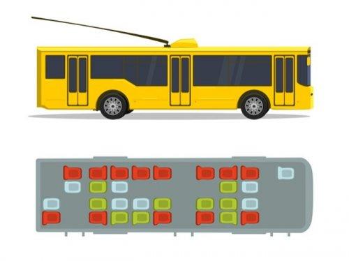 Как выбрать безопасное место в 7-ми видах транспорта (7 фото)