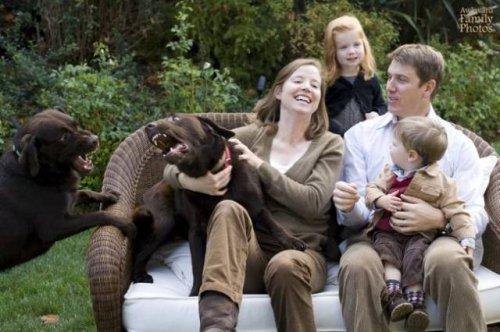 Смешные и нелепые семейные фотографии (21 шт)