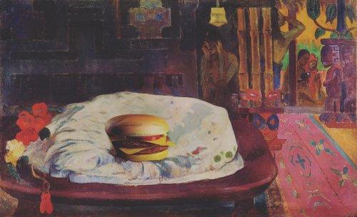 Фастфуд в классическом искусстве глазами художника Габриэля Нарделли Араужо (13 фото)