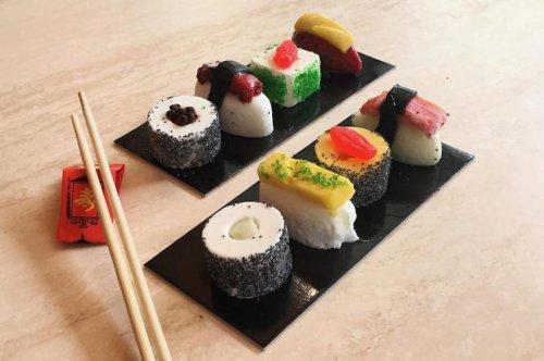Джелато в виде суши и роллов — новый вкусный тренд этого лета (9 фото)