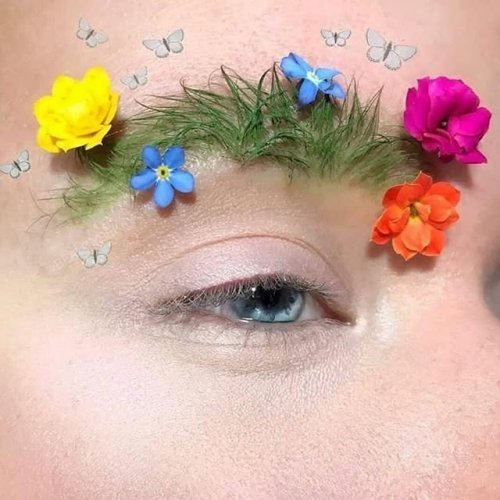 "Весенний бьюти-тренд: ""садовые"" брови (12 фото)"