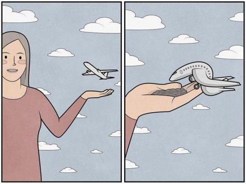 Новые саркастические комиксы и иллюстрации Антона Гудима (24 фото)