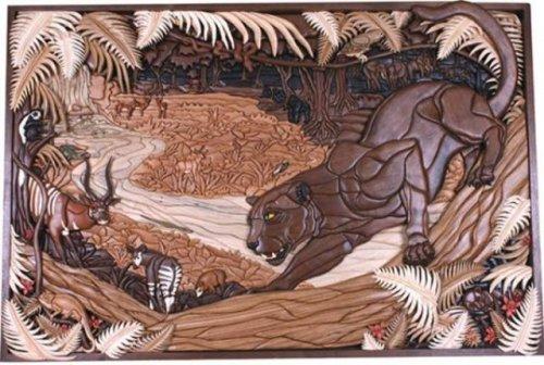 Потрясающие произведения искусства из дерева (30 фото)